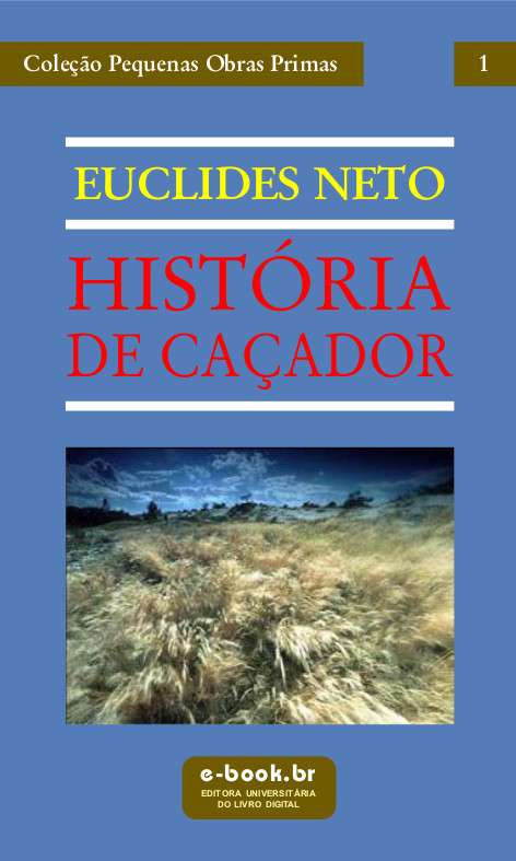 capa de História de Caçador de Euclides Neto